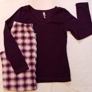 Fleece Sleepwear Set